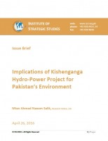 Implications of Kishenganga Hydro-Power Project for Pakistan's Environment