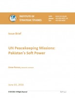 Issue Brief on UN Peacekeeping Missions: Pakistan's Soft Power