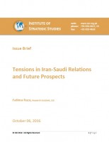 Issue Brief on Tensions in Iran-Saudi Relations and Future Prospects