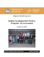 Book Launch - Indian Unsafeguarded Nuclear Program: An Assessment