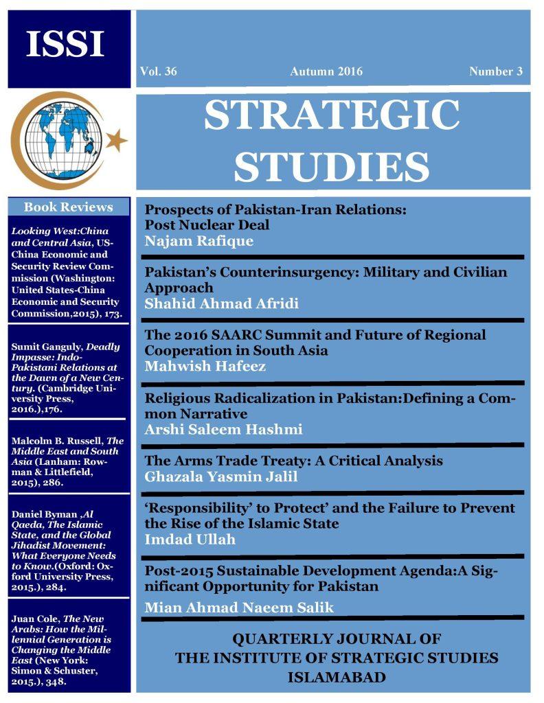 Strategic Studies | Institute of Stategic Studies Islamabad