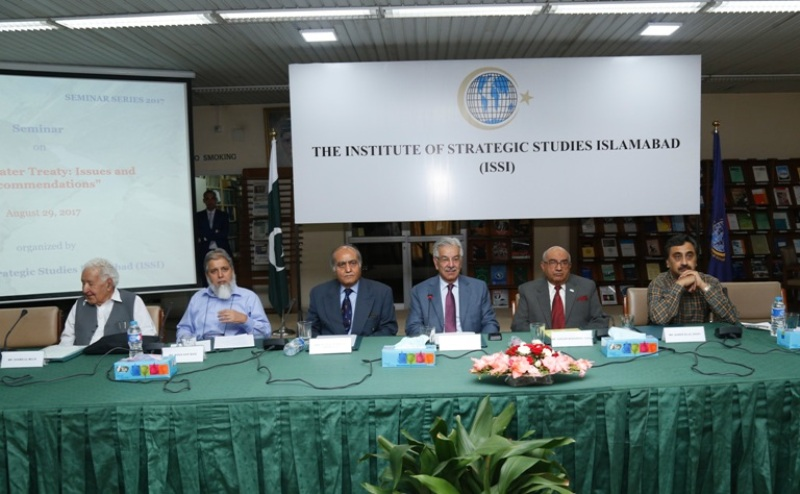 "Seminar on ""Indus Water Treaty : Issues & Recommendations"""