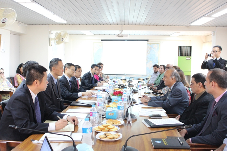 Bilateral Dialogue with Delegation from China Institute for International Strategic Studies (CIISS)