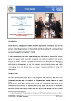 Issue Brief on Peace Talks: The North Korean Perspective