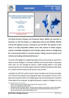 Issue Brief on The United Nations 'World Economic Situation and Prospects 2018'