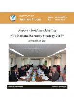 Report a�� In-House Meeting on a�?US National Security Strategy 2017a�?