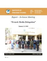 "Report – In-house meeting with ""French Media Delegation"""