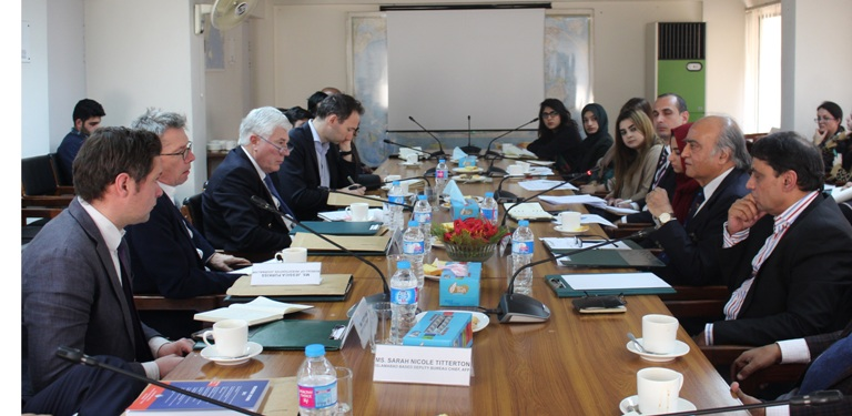 In-house meeting with a 6-member Media Delegation from United Kingdom