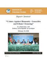 "Seminar Report on ""Crimes Against Humanity- Genocides and Ethnic Cleansing"""