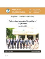 Report - In-house meeting with Delegation from the Republic of Tajikistan