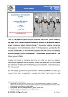 Issue Brief on Examining the White Helmets in Syria