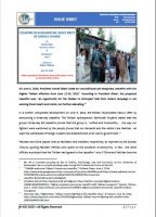 Issue Brief on Ceasefire in Afghanistan: Peace Must Be Given a Chance