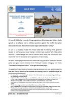 Issue Brief on Syria-Operation Manbij: A Complex Decision for US and Turkey