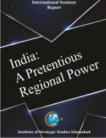 International Seminar Report on India: A Pretentious Regional Power