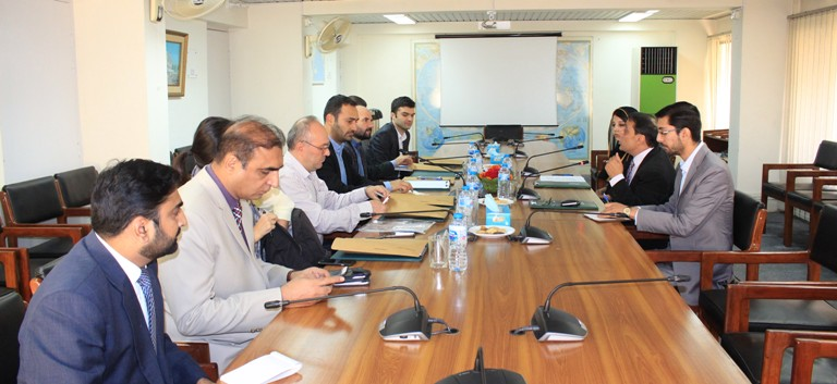 In-house meeting with a 6-member Media Delegation from Turkey