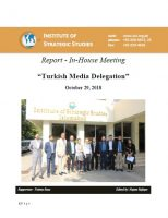 "Report - In-House meeting ""Turkish Media Delegation"""