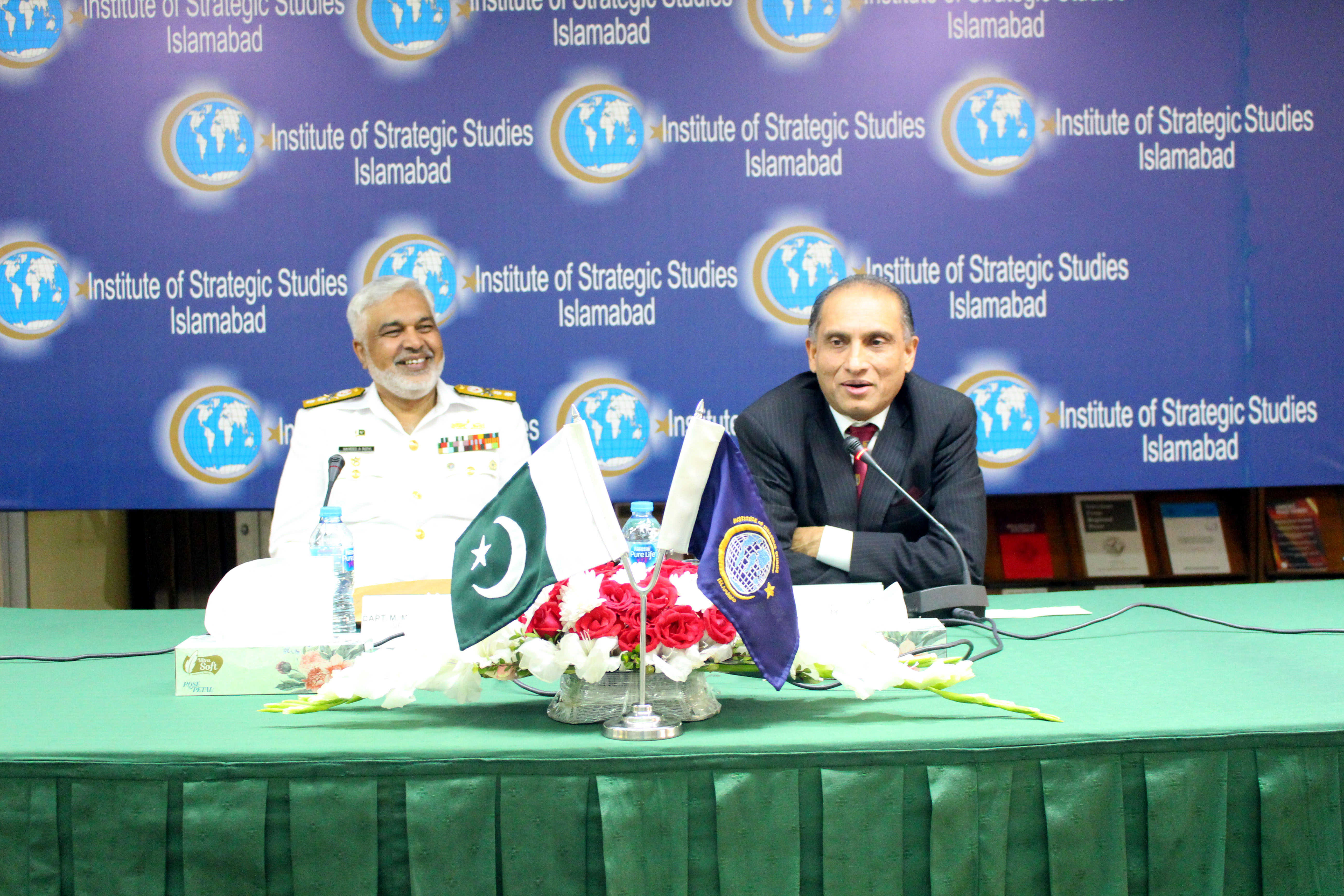 Visit by the 48th PN Staff Course led by Rear Admiral Naveed Ahmed Rizvi HI (M).