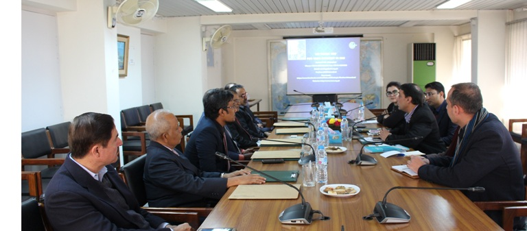 In-House Meeting with a 6-Members Delegation from Maldives
