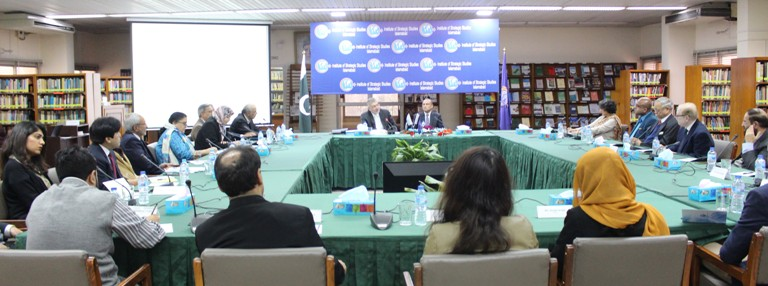 Round-tableDiscussion with Honourable Dr. Hadi Soleimanpour, Secretary General, ECO