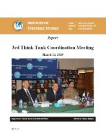 Report - 3rd Think Tank Coordination Meeting