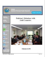Tuesday Dialogue on Pakistan's Relations with  Gulf Countries