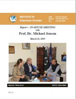 Report – In-House Meeting with Prof. Dr. Michael Jenson