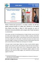 """Issue Brief on Poverty Alleviation in Pakistan: A Review of """"Ehsaas"""" Program"""