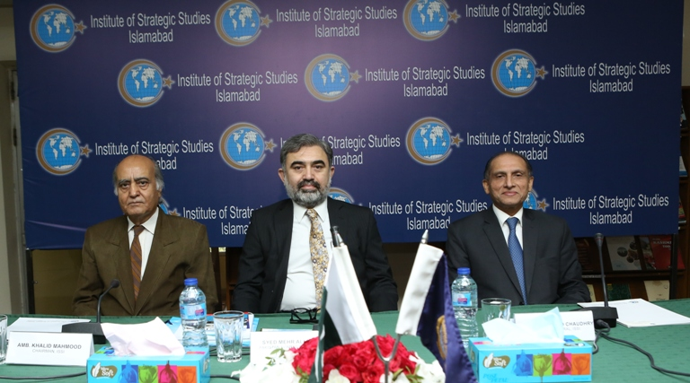"""Public Talk titled, """" Indus Waters Treaty and Water Security """""""