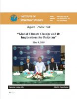 Report – Public Talk on Global Climate Change and its Implications for Pakistan