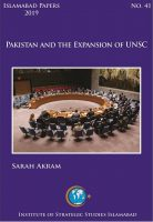 Islamabad Paper - Pakistan and the Expansion of UNSC