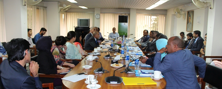 In-House Meeting with a 10-member Ethiopian Delegation