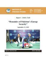 Report – Public Talk on Dynamics of Pakistan's Energy Security