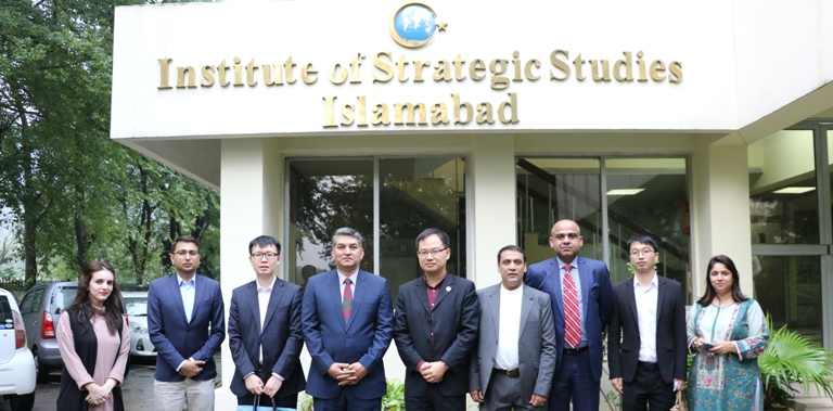 In-House Meeting with a 3-member delegation from the IDCPC