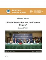 "Report – Seminar on ""Hindu Nationalism and the Kashmir Dispute"""